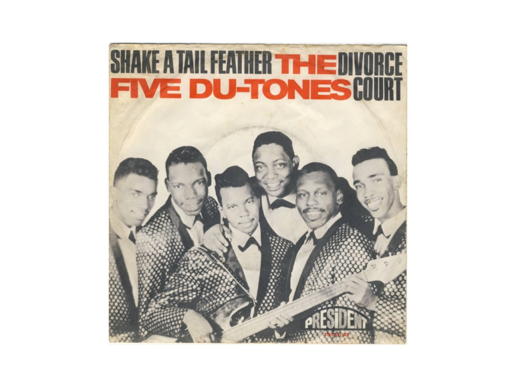 Five Du-Tones band for music licensing